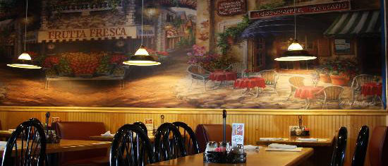 Vic's Pizza Italian Restaurant Dining Room